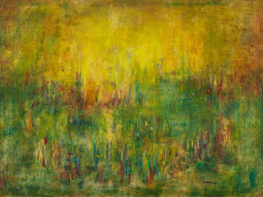 Norman Lewis, Evening Rhapsody, stima 700.000-1.000.000 dollari, Courtesy Sotheby's