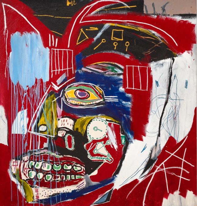 Jean-Michel Basquiat, In This Case, stima su richiesta, Courtesy Christie's