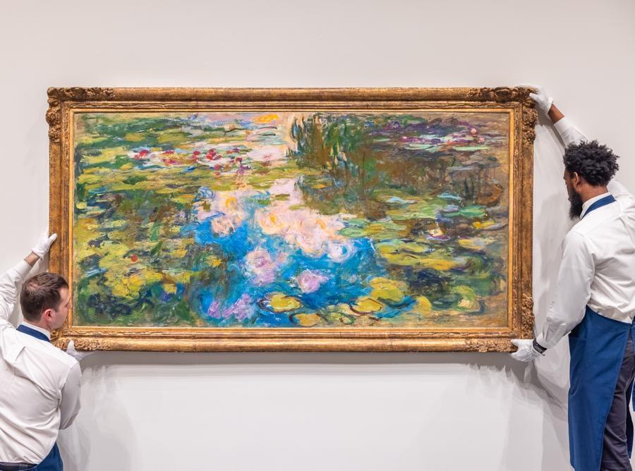 Claude Monet, Le Bassin aux Nymphéas, stima su richiesta, Courtesy Sotheby's