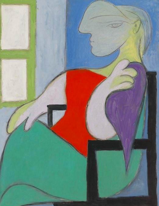 Pablo Picasso, Femme assise près d'une fenêtre (Marie-Thérèse), stima su richiesta, Courtesy Christie's