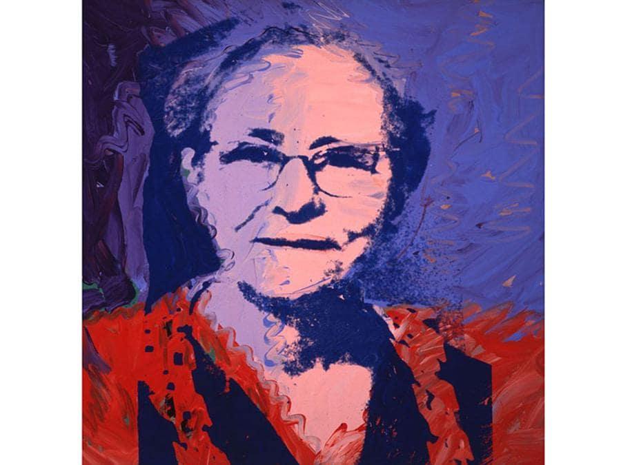 Andy-Warhol, Julia-Warhola