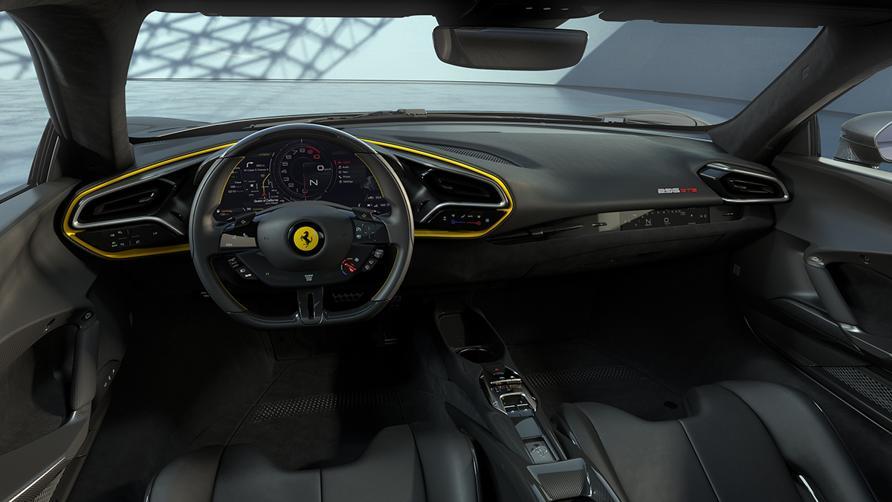 Ferrari 296 GTB Assetto Fiorano - interni