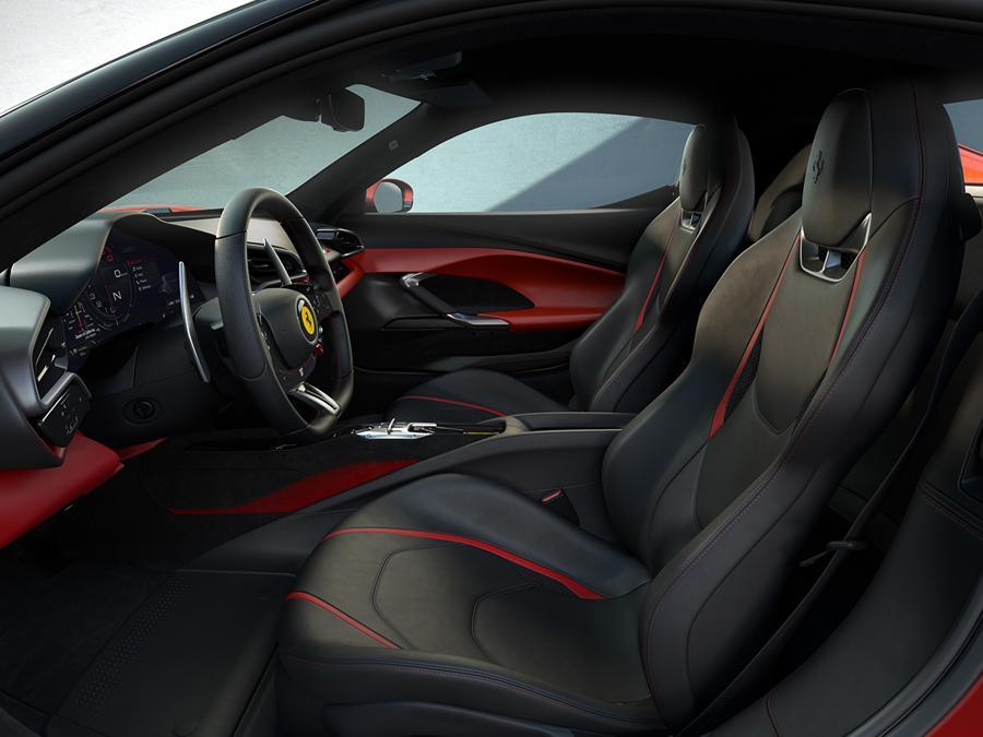 Ferrari 296 GTB - interni