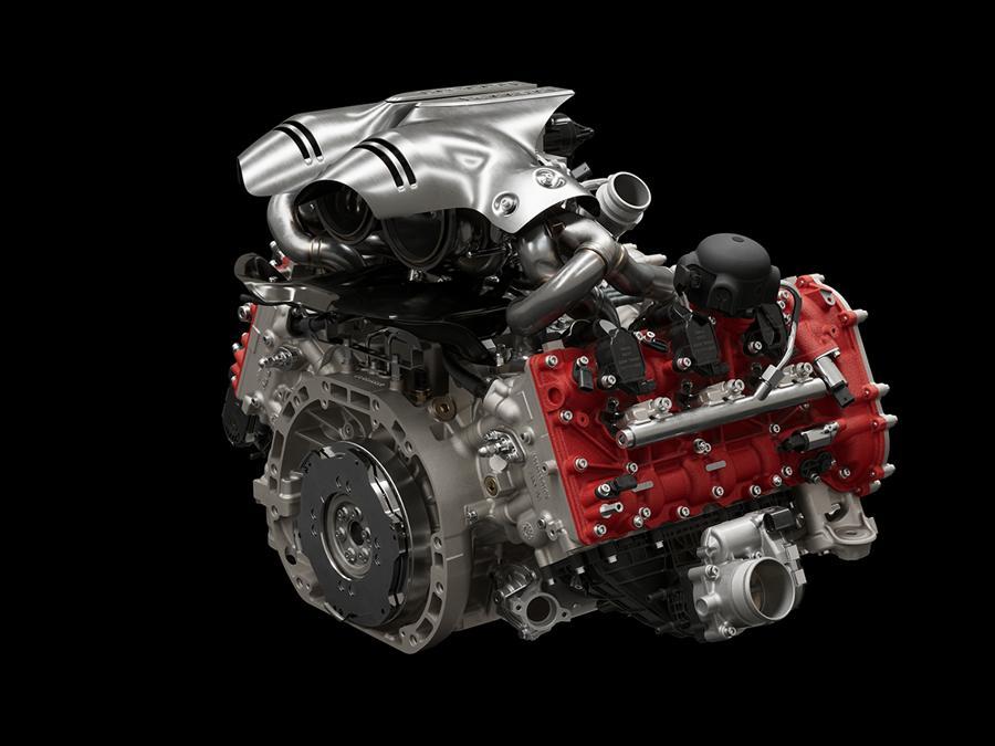 Ferrari 296 GTB - il motore