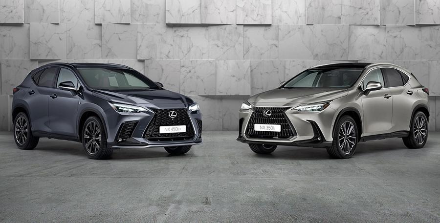 NX 450h+ e NX 350h