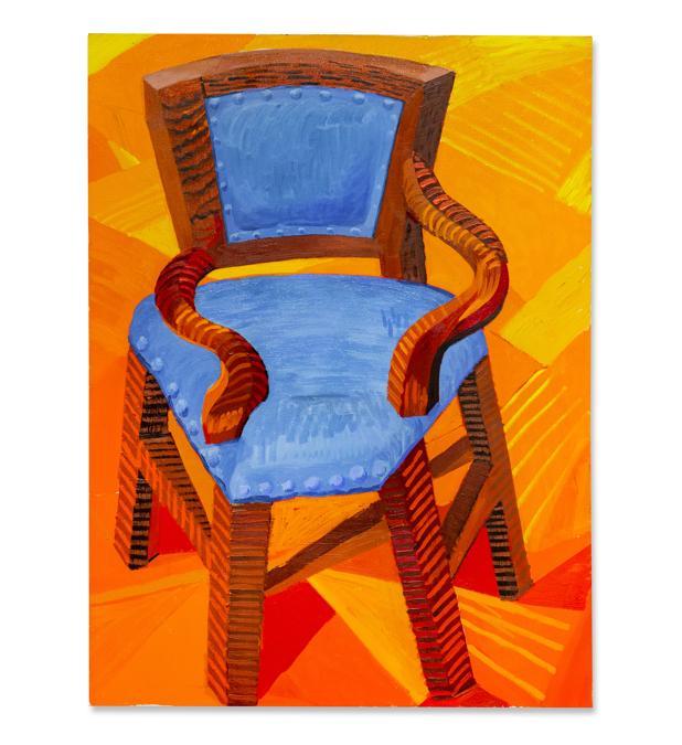 David Hockney, The Chair, est. £ 2,000,000 - 3,000,000