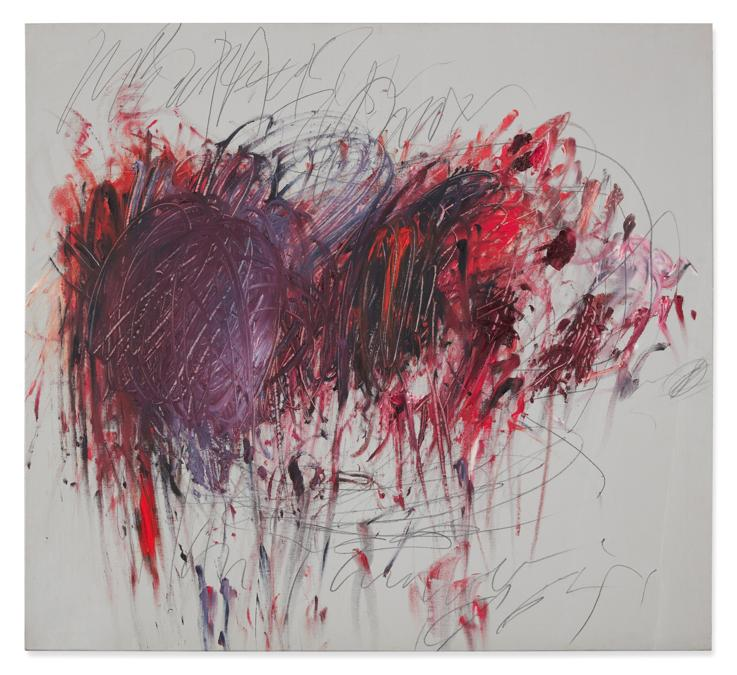 Cy Twombly, Untitled, est. 5,000,000- 7,000,000