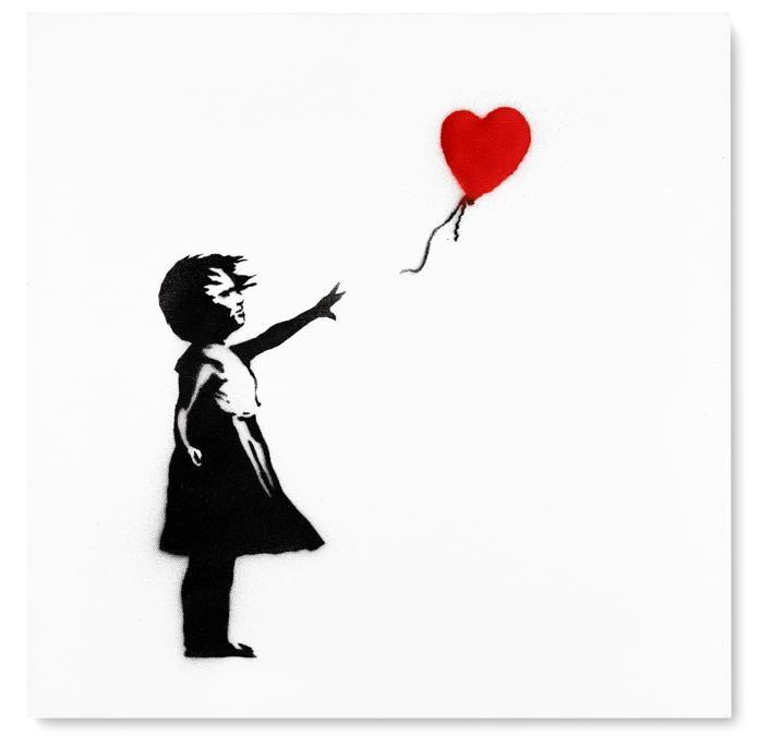 Banksy, Girl with Balloon, est. £800,000-1,200,000