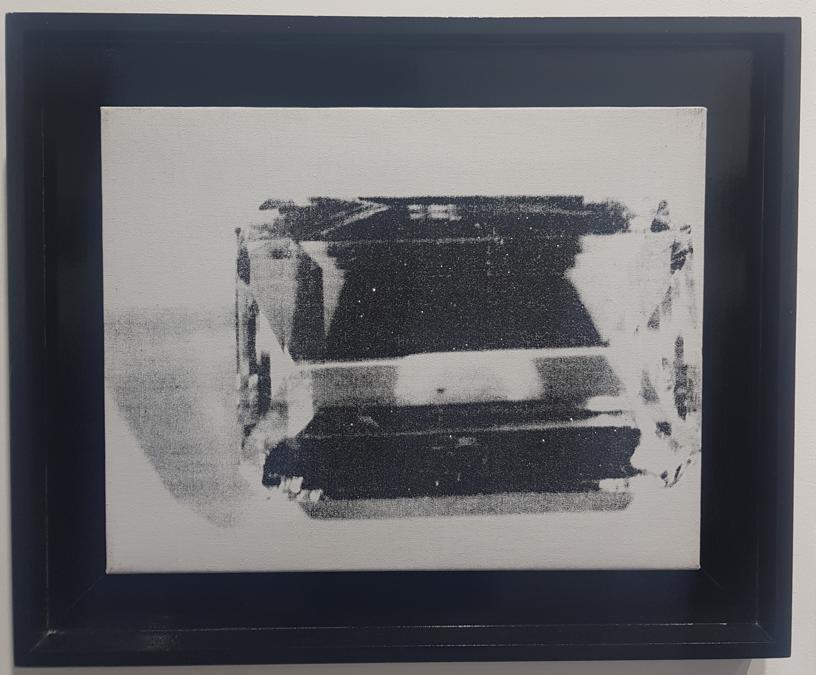 Andy Warhol, Gem, 1978, acrilico, inchiostro e polvere di diamante su tela, 35x48 cm. 350.000 euro galleria Dickinson di Londra e NY