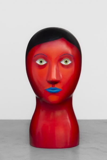 Nicolas Party «Head» 2018. Collezione Iris & Adam Singer – Donazione promessa al Hirshhorn Museum & Sculpture Garden (Foto: HV-studio, Bruxelles)