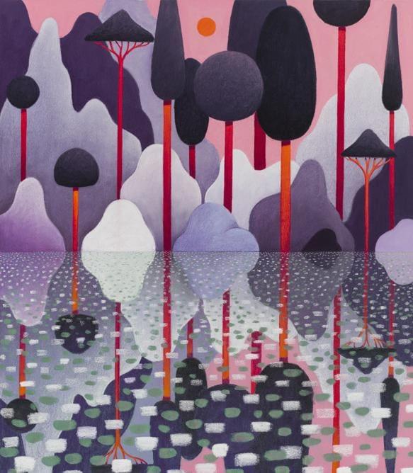 Nicolas Party «Landscape» 2020. Per gentile concessione dell'artista e Hauser & Wirth  (Foto: Adam Reich)