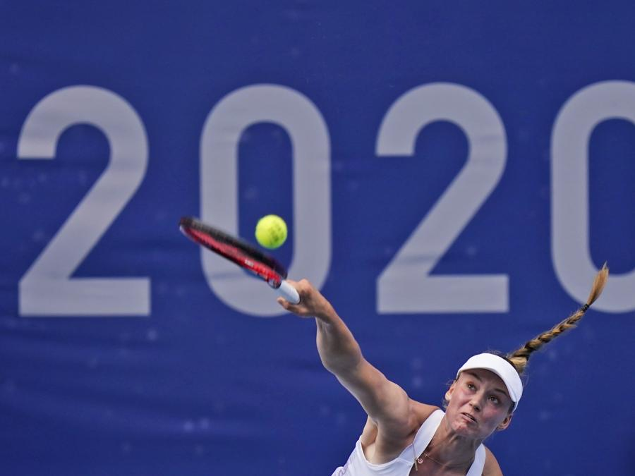 Tennis femminile - semifinale  (AP Photo/Seth Wenig)