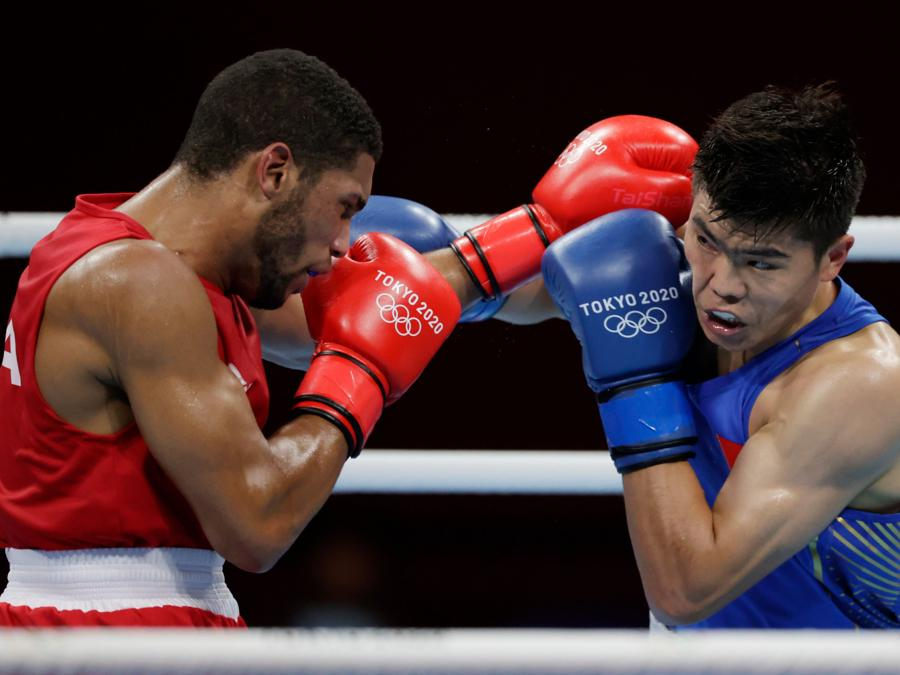 Pugilato - Uomini pesi medi- Cina-Brasile (REUTERS/Ueslei Marcelino)