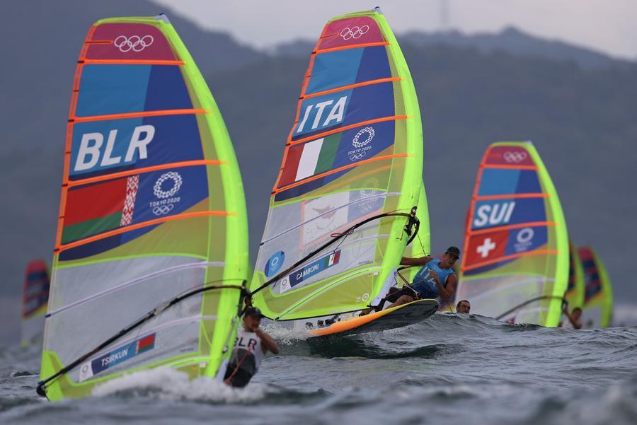 Winsurf maschile  - Serie Opening. Mattia Camboni per l'Italia (REUTERS/Ivan Alvarado)
