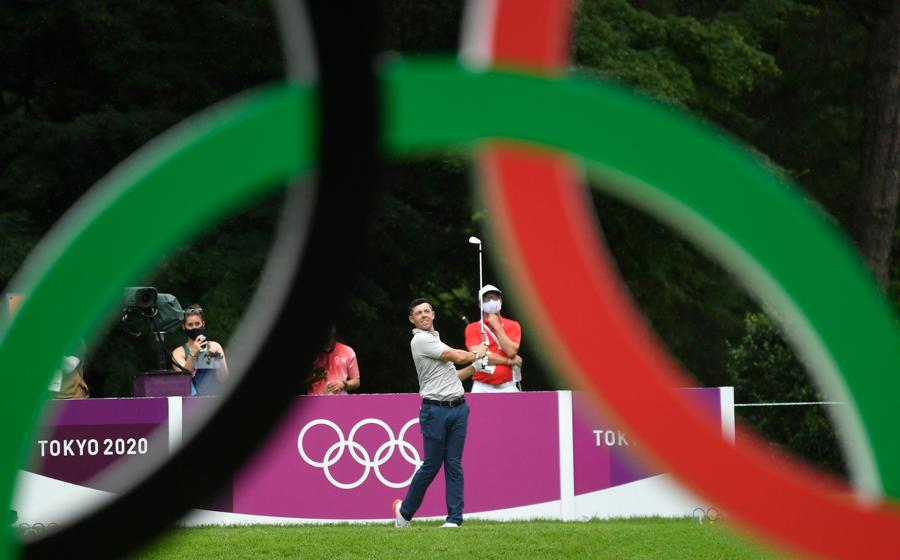 Golf - maschile individuale - Finale - Round 1. L'irlandese Rory McIlroy (REUTERS/Toby Melville)