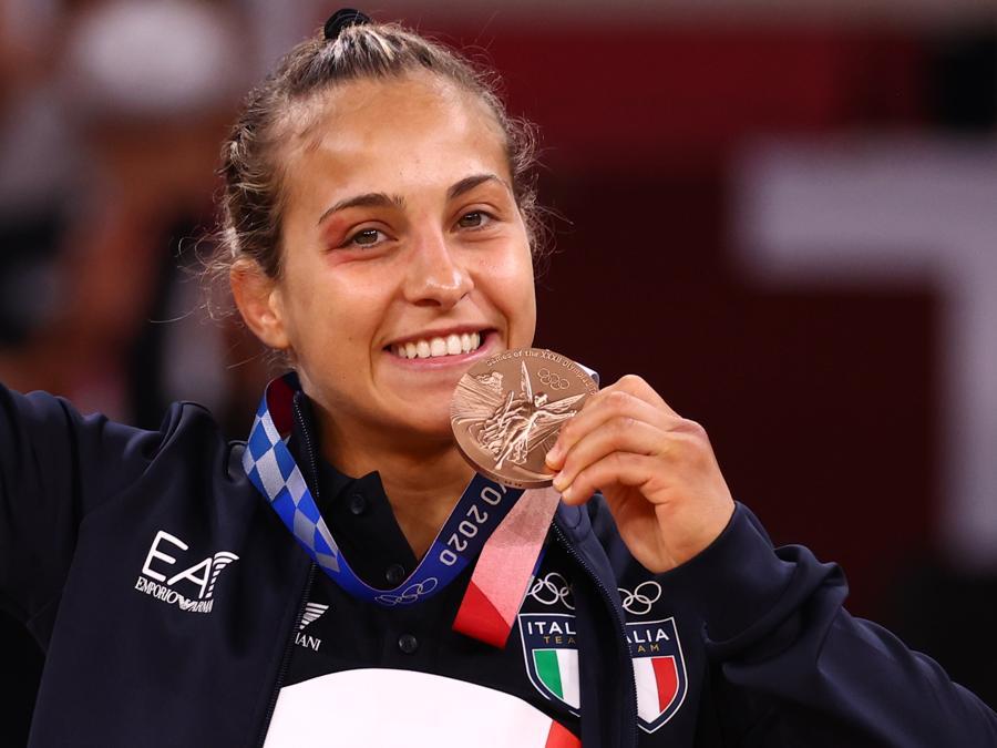 Bronzo: Odette Giuffrida   (Judo) -  Reuters/Sergio Perez