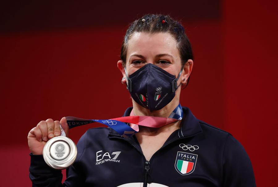 Argento: Giorgia Bordignon (Sollevamento pesi) - Reuters/Edgard Garrido