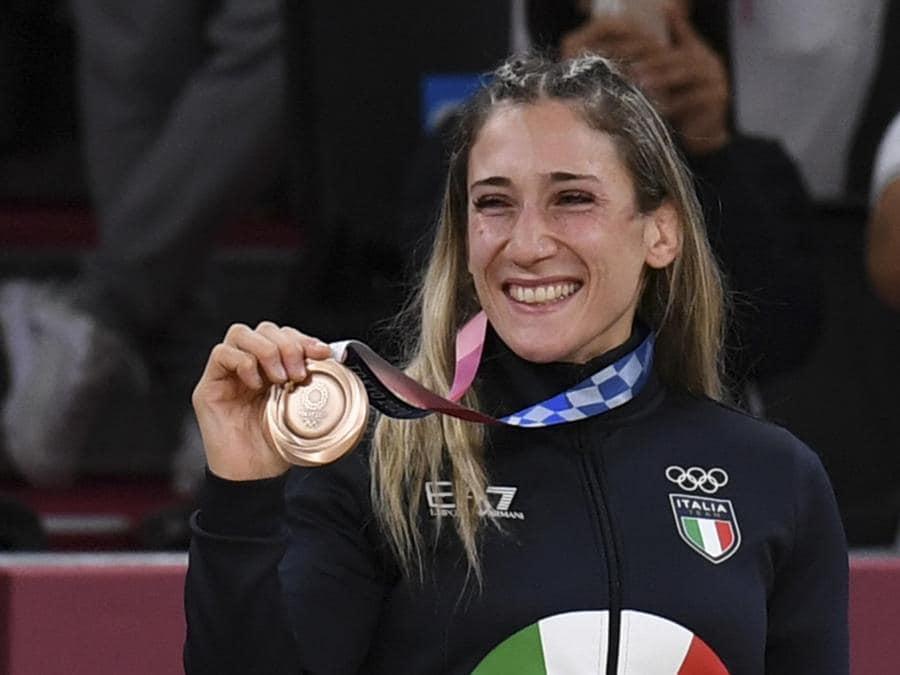Bronzo: Maria Contracchio (Judo) - Ansa