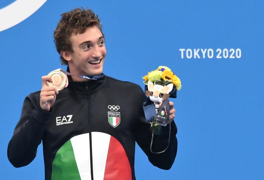 Bronzo: Federico Burdisso (Nuoto 200 farfalla) - Gian Mattia D'Alberto/LaPresse