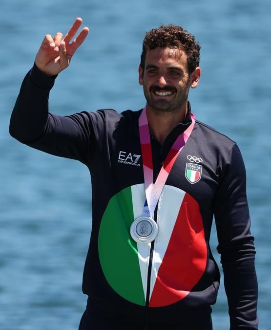 Argento: Manfredi Rizza (canoa sprint,  K1 200 metri) - Reuters/Lindsey Wasson
