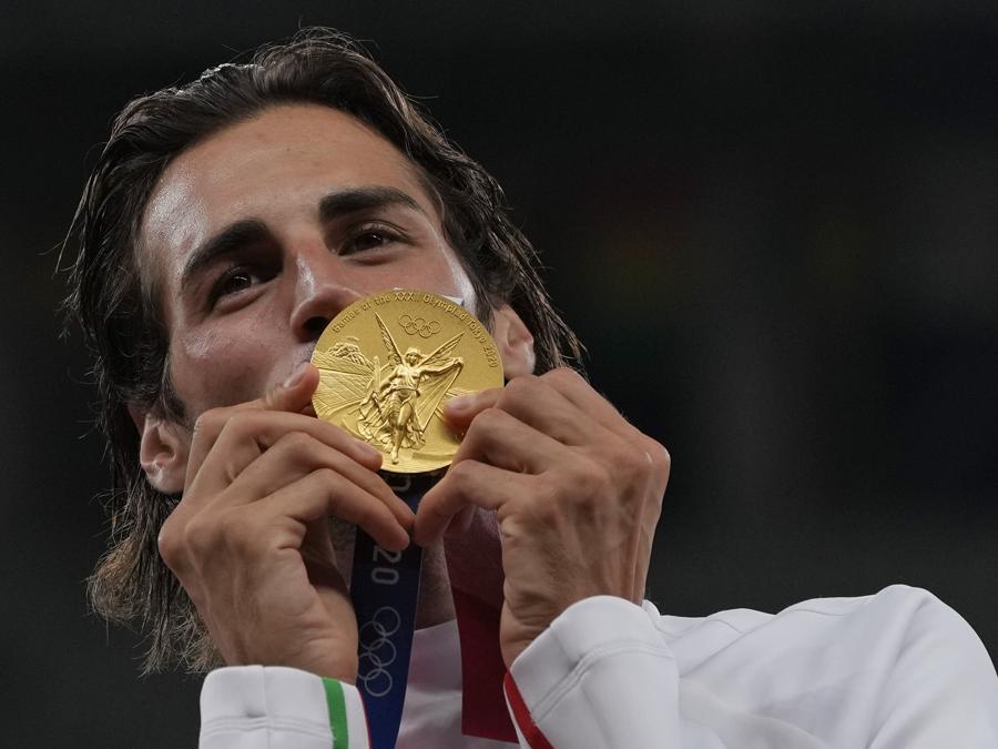 Oro: Gianmarco Tamberi (salto in alto)  - Ap Photo/Francisco Seco