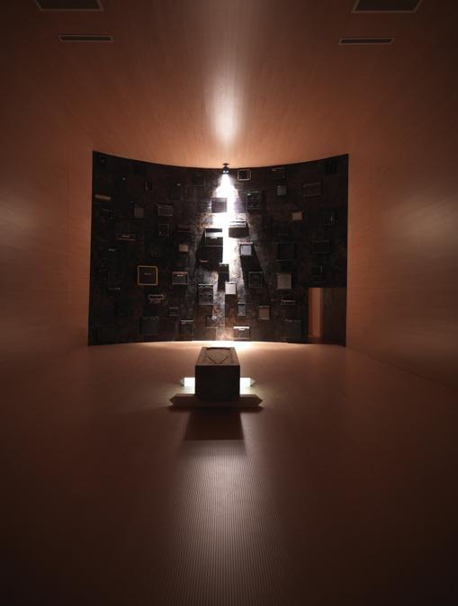 Nico Vascellari, REVENGE, 2007, veduta della mostra presso Sala Marceglia Arsenale, Biennale di Venezia, 2007, Courtesy dell'artista