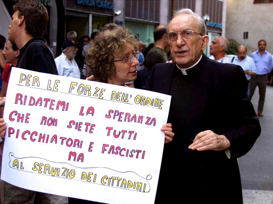 Don Andrea Gallo (F.Silvi / ANSA / li)
