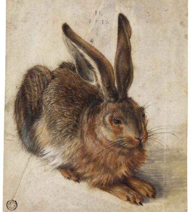 Hans Hoffmann, A Hare - Acquistato per 1.249.200 £ (stima 600.000 - 800.000 £)