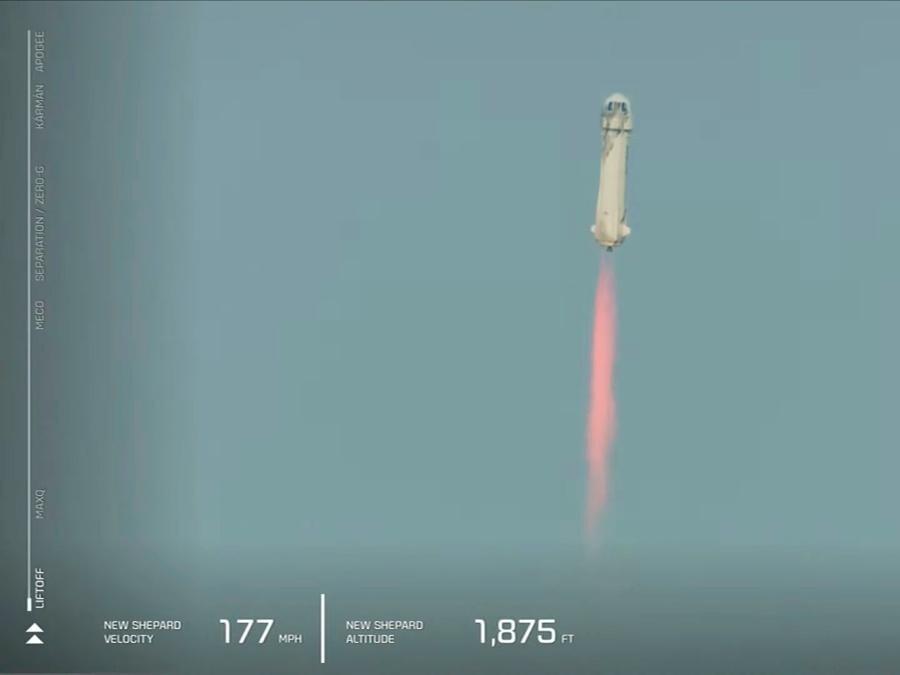 (Blue Origin/Handout via REUTERS)