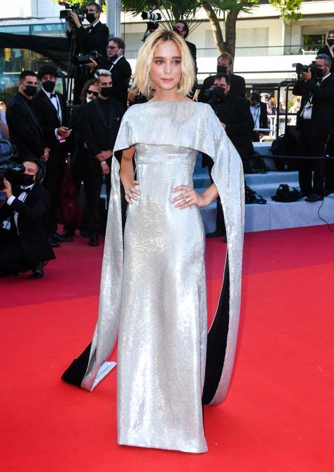 Denise Tantucci in Gucci, Cannes, Courtesy of SGP Italia