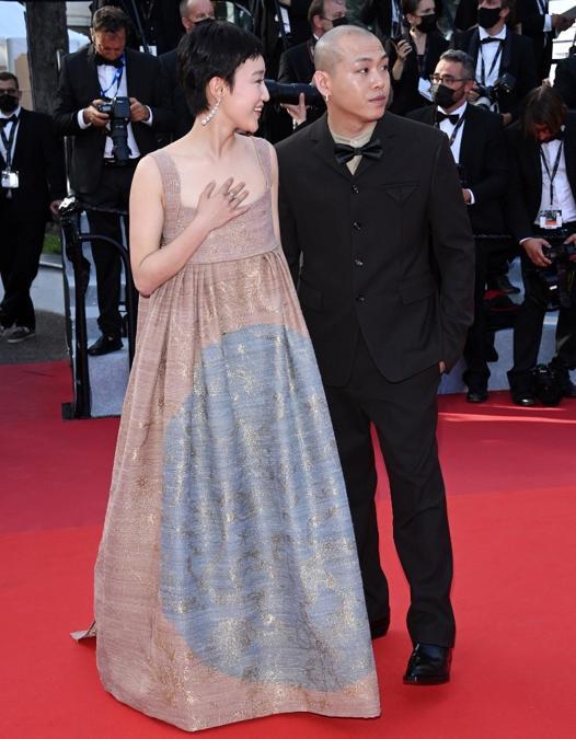 Huang Miyi in Dior