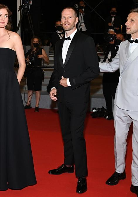 Joachim Trier in PRADA (Photo by Pascal Le Segretain/Getty Images)