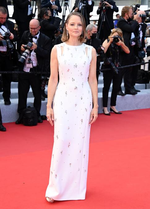 Jodie Foster in Givenchy Haute Couture (Photo by Daniele Venturelli/WireImage)