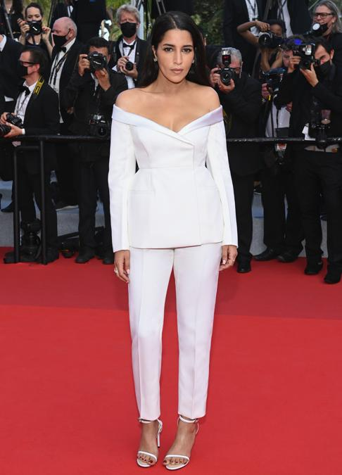 Leila Bekhti in Givenchy Haute Couture. (Photo by Pascal Le Segretain/Getty Images)