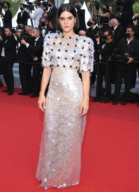 Soko in Gucci_6 luglio 2021_Cannes__Courtesy of Getty Images (Photo by Pascal Le Segretain/Getty Images)
