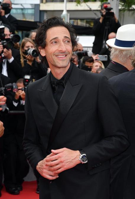 Adrien Brody in Dior Homme