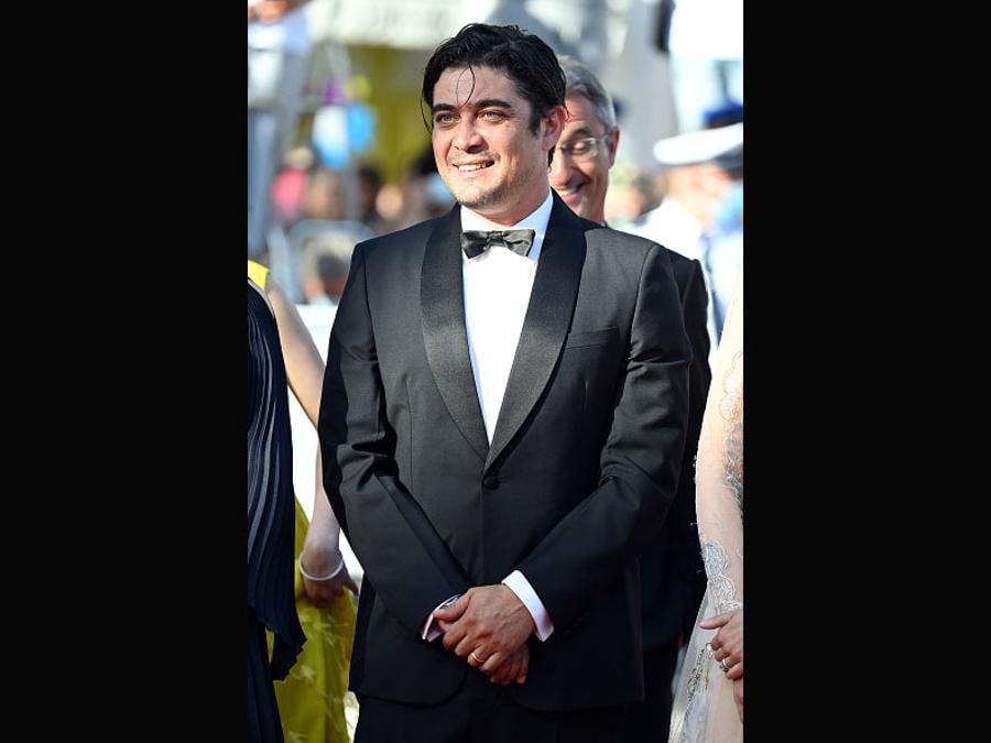Riccardo Scamarcio in Prada (Daniele Venturelli/WireImage)