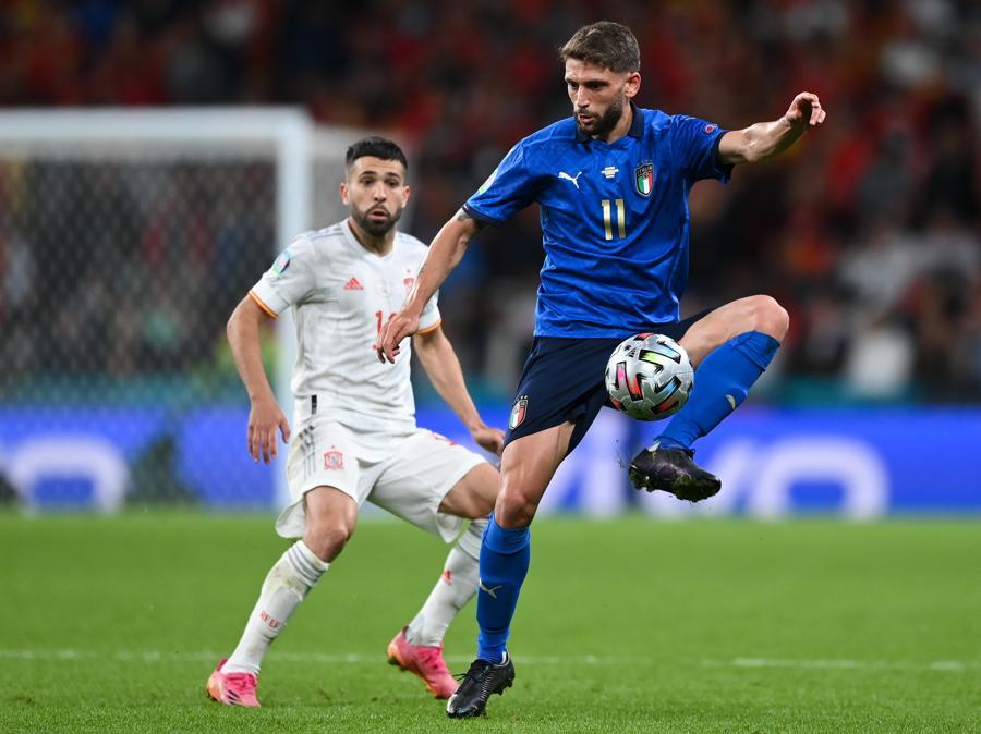 Domenico Berardi  (Photo by Shaun Botterill - UEFA/UEFA via Getty Images)