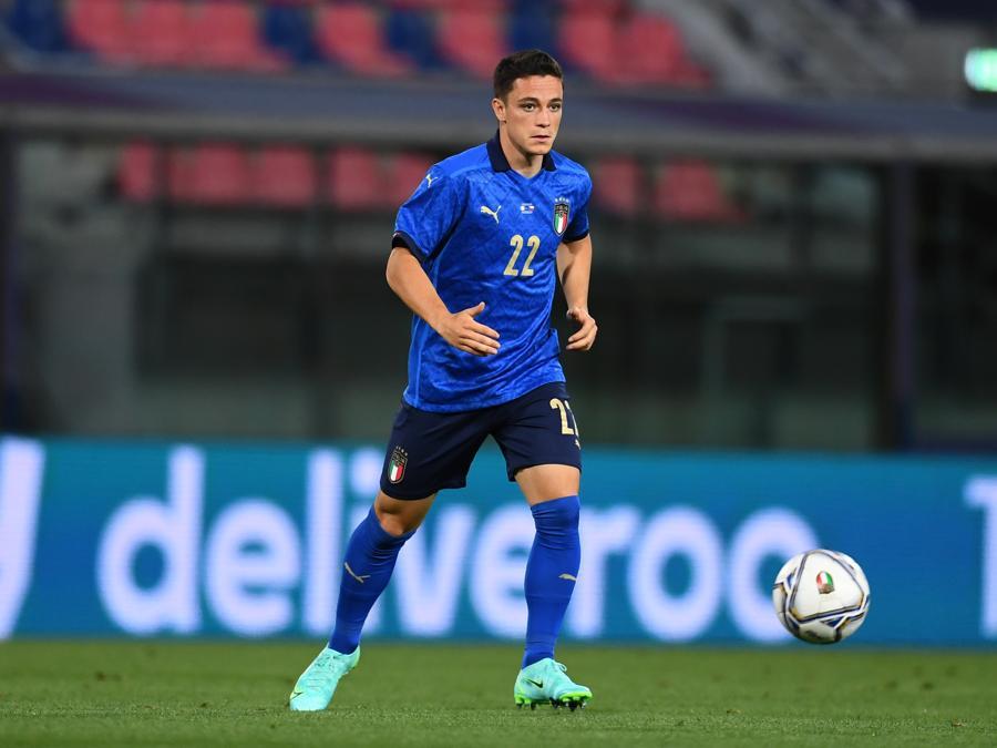 Giacomo Raspadori  (Photo by Claudio Villa/Getty Images)