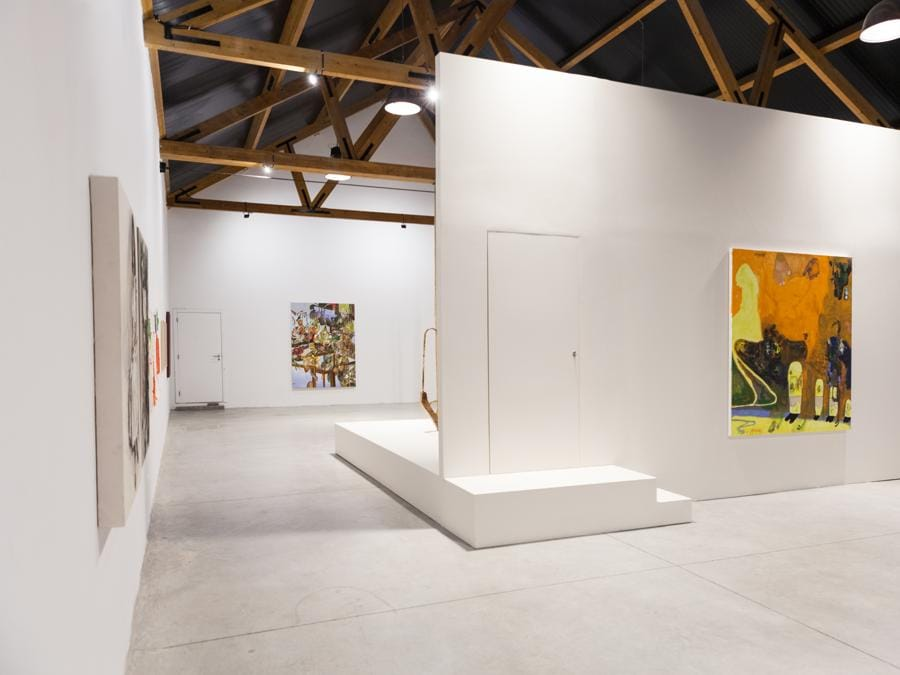 O canto do bode, installazione della mostra, Foto: Carolina Pimenta. Cortesia Fortes D'Aloia & Gabriel, Galeria Luisa Strina e Sé.