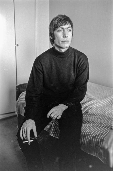 Goteborg 1965 -  Charlie Watts (Ipp)