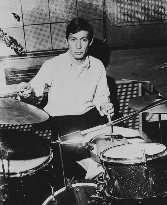 Charlie Watts  1965 (circa). (Getty Images/Keystone Features)