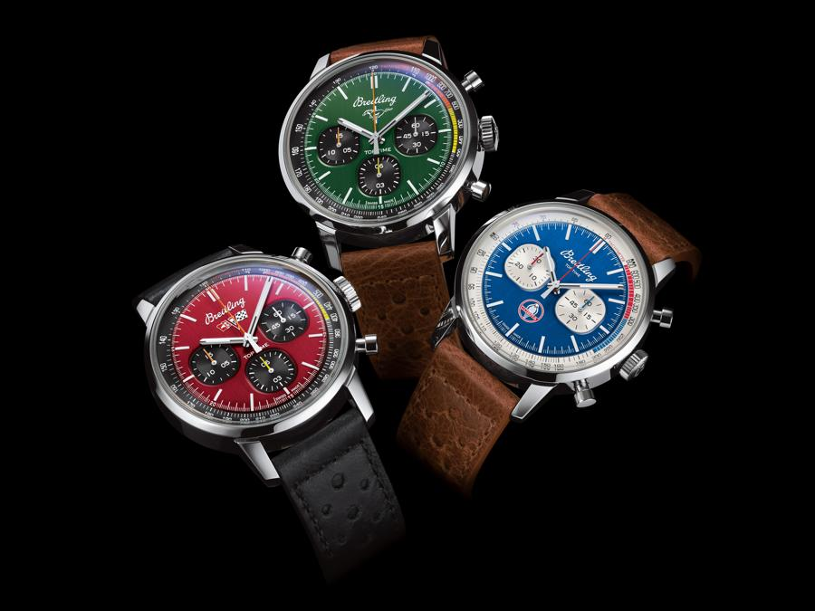 Breitling - I tre orologi della Top Time Classic Cars Capsule Collection
