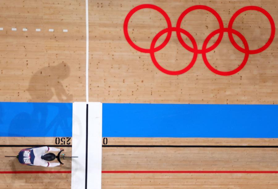 Ciclismo su pista uomini. Sprint (REUTERS/Kacper Pempel)