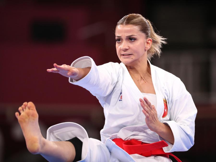 Karate femminile (EPA/HEDAYATULLAH AMID)