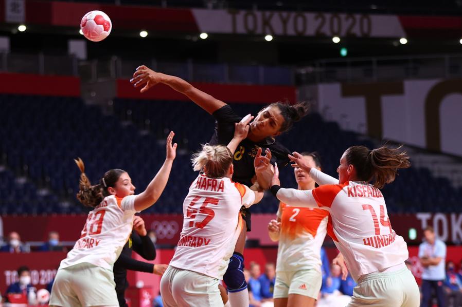 Pallavolo femminile  - Ungheria-Svezia (REUTERS/Siphiwe Sibeko)