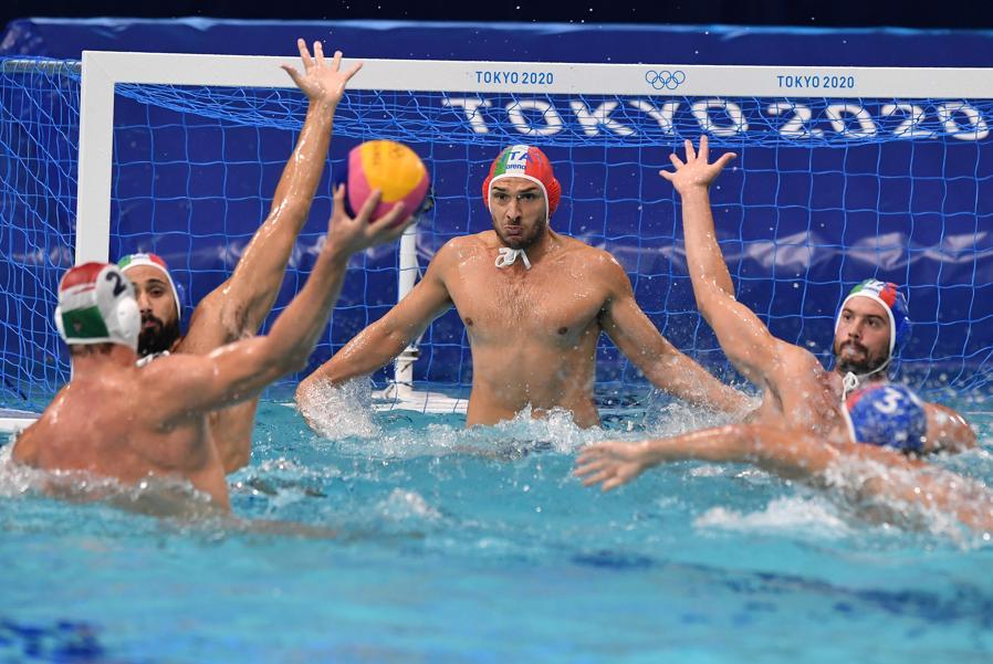 Pallanuoto maschile - Italia-Ungheria (Foto Gian Mattia D'Alberto / LaPresse)