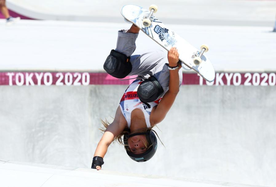 Skateboard (REUTERS/Mike Blake)