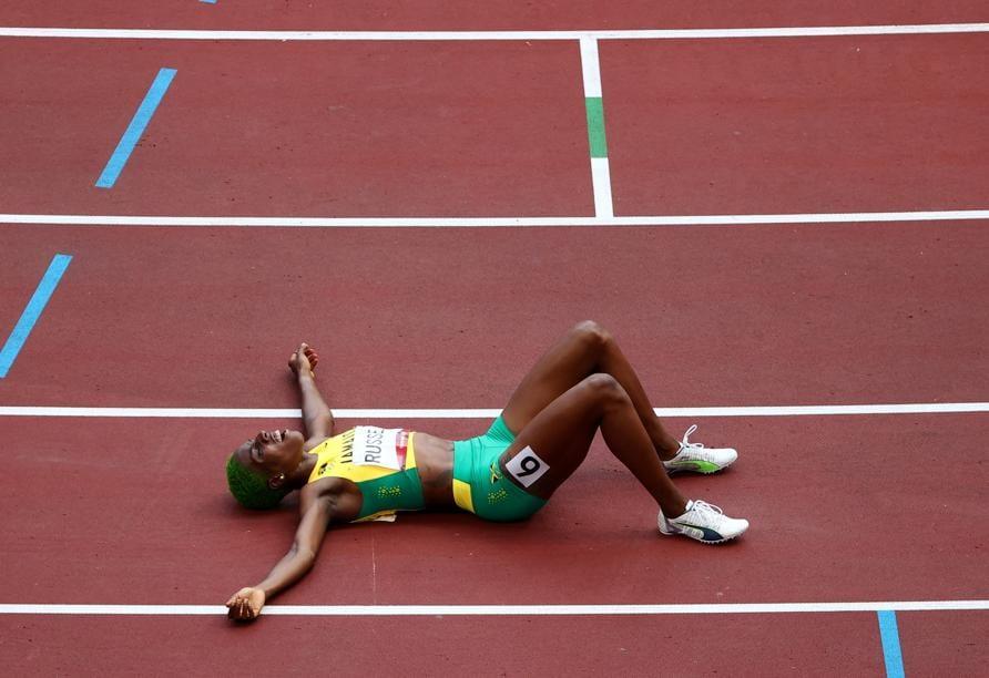 Atletica leggera - 400 m ostacoli femminili (REUTERS/Fabrizio Bensch)