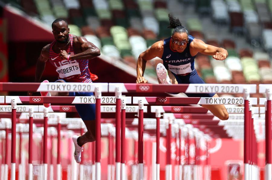 Atletica leggera - 110m ostacoli maschili  (REUTERS/Lucy Nicholson)